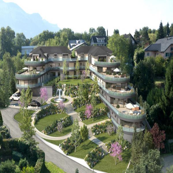Programme neuf Appartement Aix-les-Bains 73100